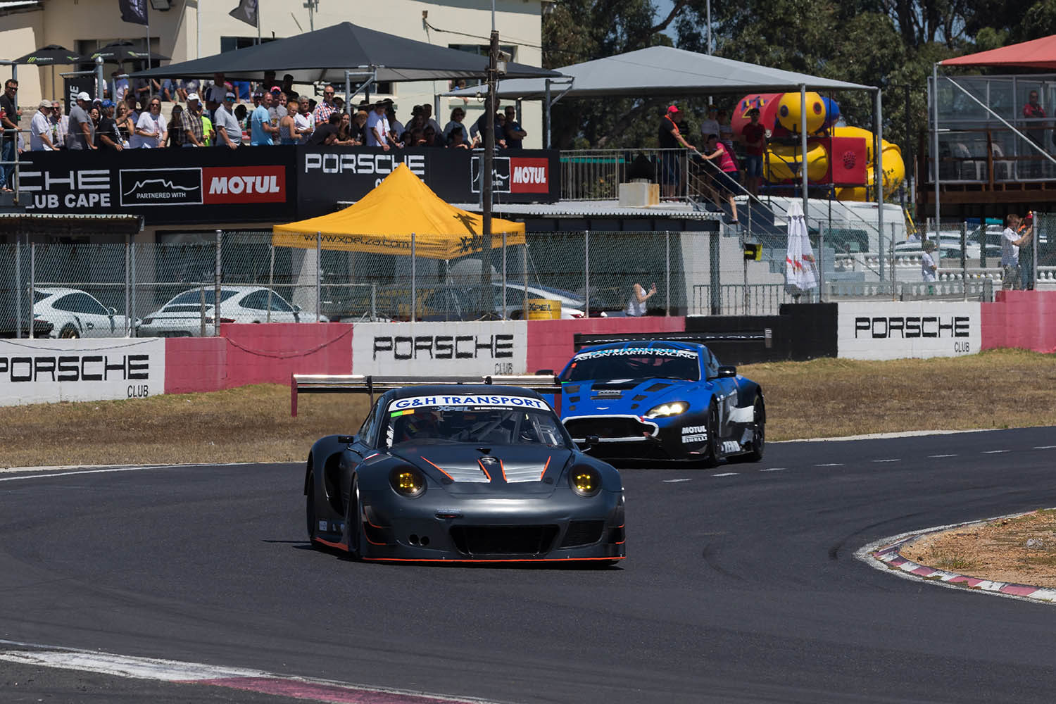 Scribante leads Arangies in race 2